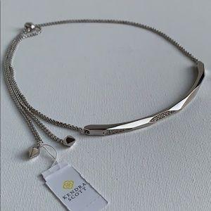 NWT Kendra Scott Graham Adjustable Choker Necklace